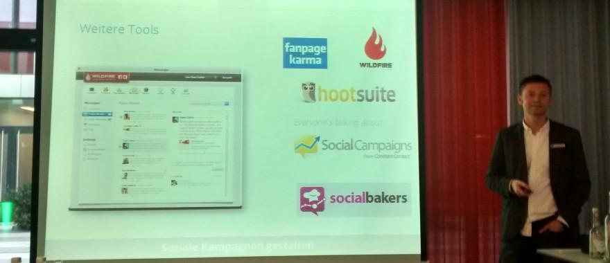 Tools zum Überprüfen der Social Media Aktivitäten