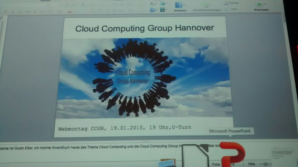 Read more about the article Webmontag Hannover 19.01.2015