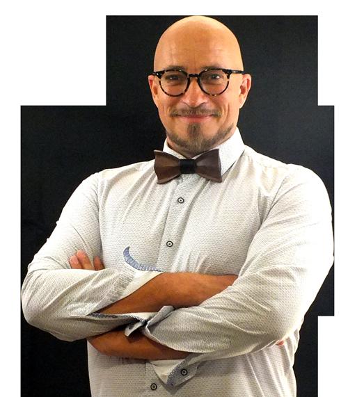 Inhaber Christian Wächter der SEO Agentur Hannover Spitze `n` Kraft